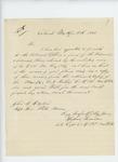 1866-04-10  Captain Hudson Saunders writes regarding ordnance stores retained by enlisted men