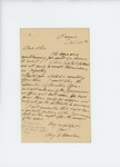 1861-04-18 Augustus C. Hamlin requests position as recruiting officer by Augustus Choate Hamlin