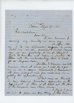 1861-04-29 A.D. Palmer requests position as assistant surgeon by A. D. Palmer