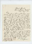 1861-05-07  Colonel Charles Davis Jameson describes regimental order and drills