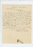 1861-05-17 Nathaniel Dustin writes to Adjutant General Hodsdon regarding enlistment of men from Dexter by Nathaniel Dustin