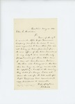 1861-05-18 J.T. Hatch writes to John L. Hodsdon regarding provisions for troops in Castine by J. T. Hatch