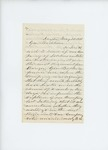 1861-05-20 Nathan Wyman writes to Governor Washburn regarding burden of troops on town by Nathan Wyman