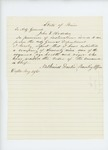 1861-05-26 Nathaniel Dustin reports to John Hodsdon that he enlisted 79 men from Dexter by Nathaniel Dustin
