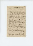 1861-05-27 John Goddard requests a commission for his son and offers his steamship as transport ship by John Goddard