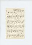 Undated - Dr. Daniel McRuer writes from Fort Corcoran regarding health of troops by Daniel McRuer