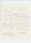 Undated - Colonel Charles W. Roberts is assigned to the command of Fort Corcoran by F. J. Porter