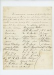 Undated - Petition of enlisted men of the 2nd Maine Regiment requesting discharge