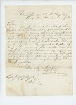 Undated - Colonel Charles W. Roberts recommends promotion of Captain Daniel F. Sargent by Charles W. Roberts