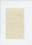 Undated letter requesting promotion of Alonso Merick to drill officer