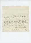 1861-06-06  Thomas Smith writes to Adjutant General Hodsdon regarding H.B. Lawrence, deserter