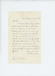 1861-06-07  Hannibal Hamlin writes to Governor Washburn recommending James Mann for Quartermaster