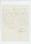 1861-06-10  S.B. Morison recommends Dr. McRuer for Brigade Surgeon