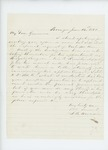 1861-06-14  S.B. Morison writes to Governor Washburn again recommending Dr.Daniel McRuer for Brigade Surgeon