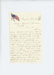 1861-06-19  L.C. Fairfield writes to Adjutant General Hodsdon to request permission to take charge of enlistment of 1000 men