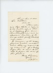 1861-06-18  Dr. McRuer writes to Governor Washburn about the poor health of Captain Burton