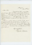 1861-06-19  Dr. Augustus Hamlin requests a revolver for Dr. Allen and offers to bring deserter to Washington, D.C.