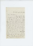 1861-06-24  Dr. W.H. Allen writes to Governor Washburn regarding status of regiment