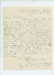 1861-06-29  Daniel F. Billings request a return to his regiment