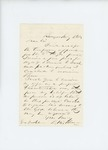 1861-07-06  Dr. McRuer accepts a temporary appointment to the 2nd Regiment