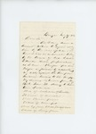 1861-07-17  Dr. McRuer writes to Governor Washburn requesting payment for medical services to troops