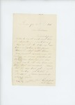 1861-07-24  A.D. Harlow writes to Adjutant General Hodsdon with questions about procedure