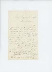 1861-07-25  A.D. Harlow writes to Adjutant General Hodsdon regarding transportation for musicians