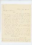 1861-07-29  Jeremiah Fenno writes to Governor Washburn regarding the 2nd Maine Regiment band