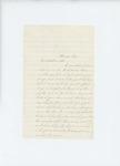 1861-08-06  Rachel Keene requests the discharge of her son Elden from the regiment