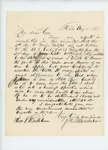 1861-08-08  J.H. Macomber writes to Governor Washburn inquiring about term of service