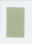 1861-08-12 Mrs. M.H. Maxwell complains about lack of rations for soldiers by M. H. Maxwell