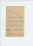 1861-08-17 A.D. Harlow submits a bill to Adjutant General Hodsdon by A. D. Harlow