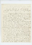 1861-08-21 Reverend Otis Dunbar requests the discharge of his son Henry from the 2nd Maine Regiment by Otis Dunbar