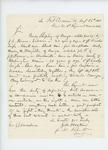 1861-08-26 Samuel W. Hoskins writes to Adjutant General Hodsdon regarding deserters Shepley, Stevens, and Mayville by Samuel W. Hoskins