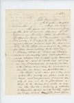 1861-08-28  Dr. Daniel McRuer writes to Governor Washburn regarding S.B. Morrison