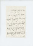 1861-08-30  Joseph Forbes requests his son Joseph B. Forbes be transferred to the Navy
