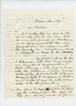 1861-09-01 W.H. McGillis writes to Governor Washburn regarding promotion of Sam Hinckley to Lieutenant by W. H. McGillis