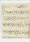 1861-09-01 Dr. Daniel McRuer writes to Governor Washburn expressing dismay at lack of surgeons by Daniel McRuer