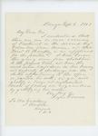 1861-09-04  Rufus Dwinal recommends Samuel Hinckley as Lieutenant
