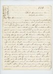 1861-09-05 Dr. S.B. Morrison sends request for supplies to Governor Washburn by S. B. Morrison