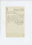 1861-09-06 Dr. Daniel McRuer submits his resignation to Governor Washburn by Daniel McRuer