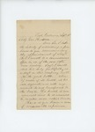 1861-09-16 Captain Rinaldo B. Wiggin supports transfer of H.P. Crowell to another regiment by Rinaldo B. Wiggin