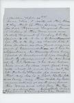 1861-09-26 John Bridges recommends Sergeant J.C. Collins for commission in the 11th Regiment by John Bridges