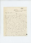 1861-09-24  Dr. Morrison sends receipts for hospital supplies and a report of the regiment