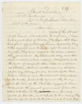 1861-10-03  Colonel Charles Roberts describes difficulties with teamsters
