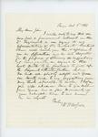 1861-10-06  W. H. McGillis urges the regiment be filled