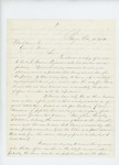 1861-10-10 A.M. Roberts requests up to 500 additional men for the regiment by A. M. Roberts