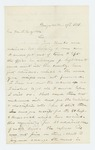 1861-10-17  Recruiting officer James Dean requests supplies from Adjutant General Hodsdon