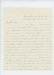 1861-10-19  S.B. Morrison reports the status of the regiment to Governor Washburn
