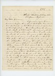 1861-10-29  Dr. S.B. Morrison informs Governor Washburn of the condition of the regiment